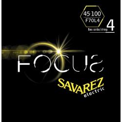 FOCUS Струны для бас гитар SAVAREZ F70L4