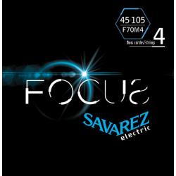 FOCUS Струны для бас гитар SAVAREZ F70M4