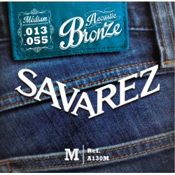 Acoustic Bronze Струны для акустических гитар SAVAREZ A130M