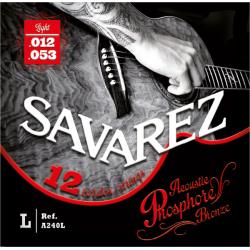 Acoustic F. Bronze Струны для 12-струнных акустических гитар SAVAREZ A240L