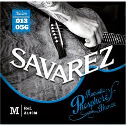 Acoustic F. Bronze Струны для акустических гитар SAVAREZ A140M