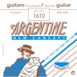 Струны для акустических гитар SAVAREZ 1610 Argentine