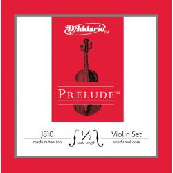 J810-1/2M PRELUDE Комплект струн для скрипки D`Addario