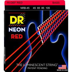 NEON Струны для бас гитар DR NRB-45