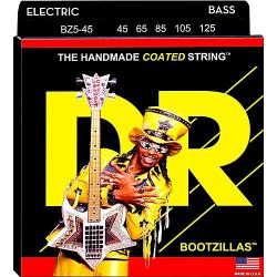 BOOTZILLAS Струны для бас гитар DR BZ5-45