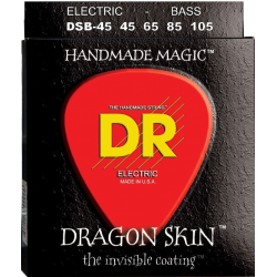Dragon Skin Струны для бас гитар DR DSB-45