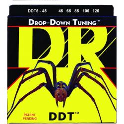 DROP-DOWN TUNING Струны для бас гитар DR DDT5-45