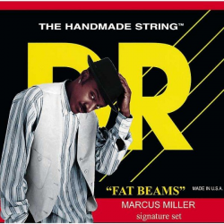 FAT-BEAMS Струны для бас гитар DR MM6-30