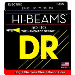 HI-BEAM Струны для бас гитар DR ЕR-50