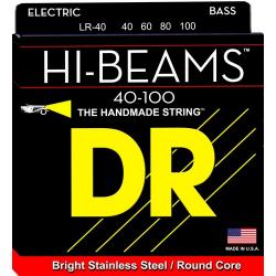 HI-BEAM Струны для бас гитар DR LR-40