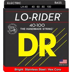 LO-RIDER Струны для бас гитар DR LH-40