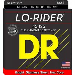LO-RIDER Струны для бас гитар DR MH5-45