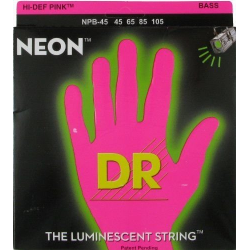 NEON Струны для бас гитар DR NPB-45