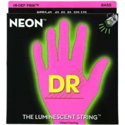 NEON Струны для бас гитар DR NPB5-45