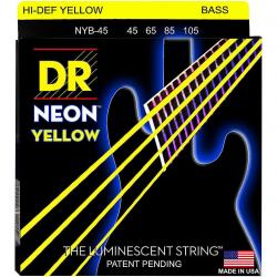 NEON Струны для бас гитар DR NYB-45
