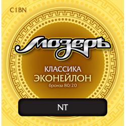 C1BN Комплект струн для классической гитары, Мозеръ
