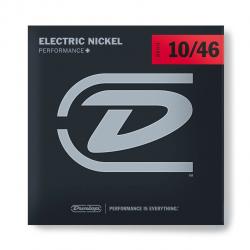 DEN1046 Комплект струн для электрогитары, никелированные, Medium, 10-46, Dunlop