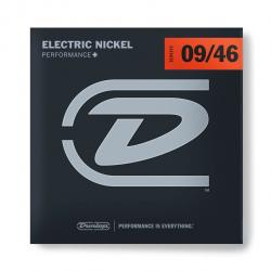 DEN0946 Комплект струн для электрогитары, никелированные, Light/Heavy, 9-46, Dunlop