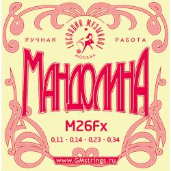 ГОСПОДИН МУЗЫКАНТ M26FX - СТРУНЫ ДЛЯ МАНДОЛИНЫ GM