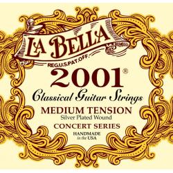 LA BELLA 2001M - Струны для классической гитары Ла Белла