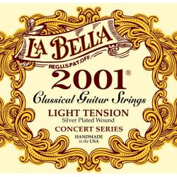 LA BELLA 2001L - Струны для классической гитары Ла Белла