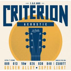 C500TT Criterion Комплект струн для акустической гитары 009-048 La Bella