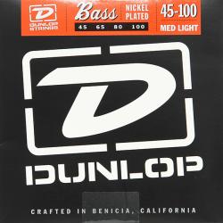 DBN45100 Комплект струн для бас-гитары, Dunlop