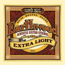 Ernie Ball 2006 струны для акуст.гитары Earthwood 80/20 Bronze