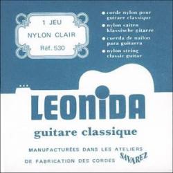 LEONIDA Струны для классических гитар SAVAREZ 530