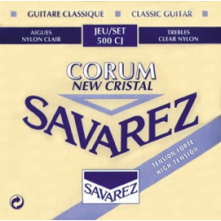 NEW CRISTAL CORUM Струны для классических гитар SAVAREZ 500 CJ