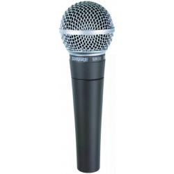 Вокальный динамический кардиоидный микрофон SHURE SM58-LCE