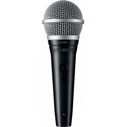Вокальный динамический микрофон SHURE PGA48 XLR + кабель XLR-XLR